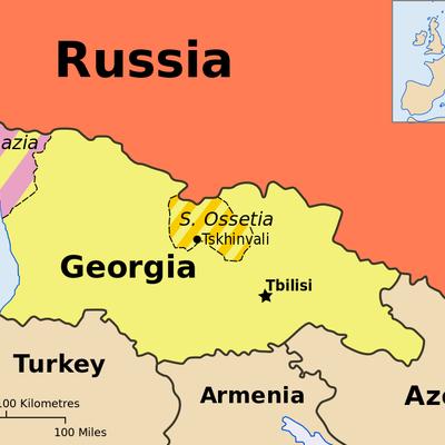 Rusia - Georgia timeline