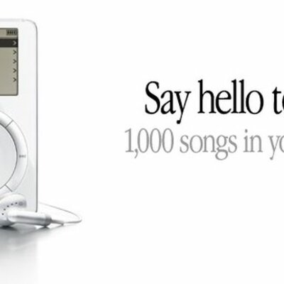 the iPod timeline