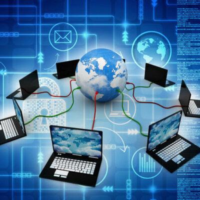 Las redes informáticas timeline