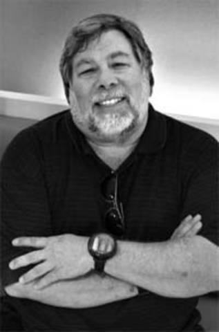Steve Wozniak designed the first Apple known as the Apple I computer in 1976.