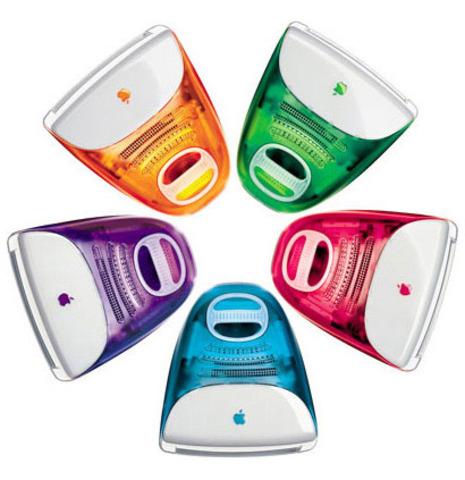 """iMac """"Flavours"""" 1998-2003"""