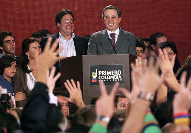 Reelección Presidente Alvaro Uribe