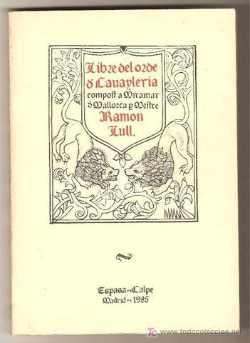 Llibre de l'ordre de cavallería