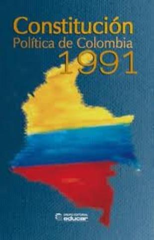 Constitución politica de Colombia.