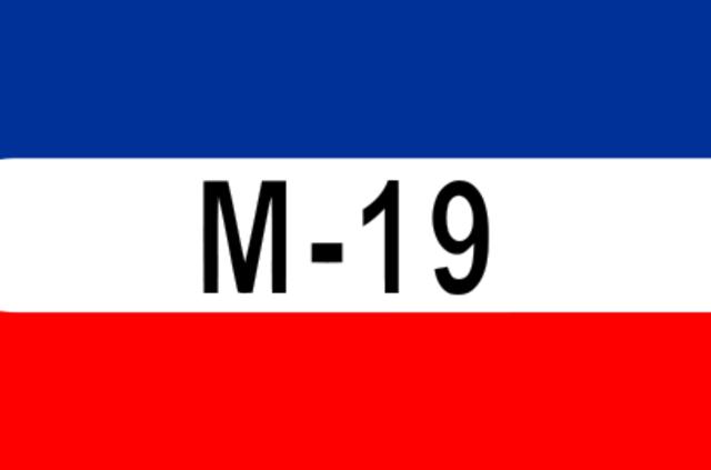 SE FORMA EL MOVIMIENTO 19 DE ABRIL (M-19)