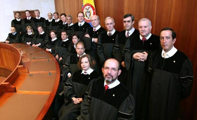 Ley pensión magistrados Corte Suprema de Justicia