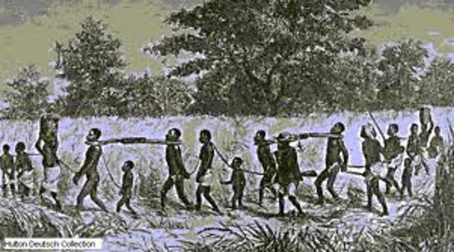 El trabajo en la América hispánica .La esclavitud