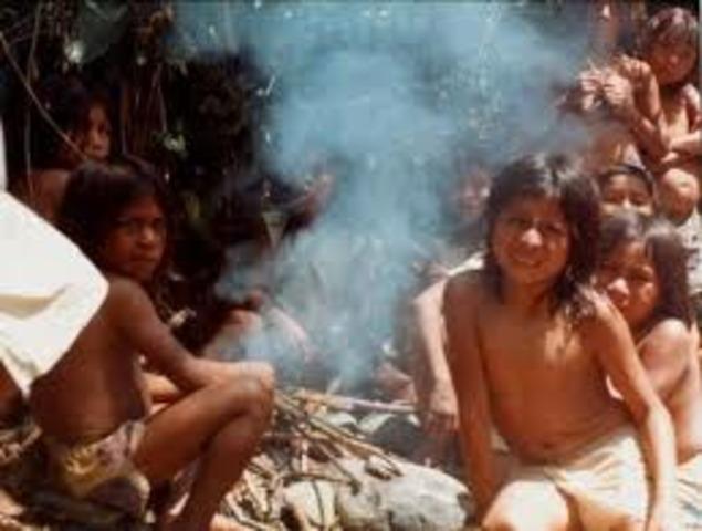 El trabajo en América hispánica. Los resguardos indígenas