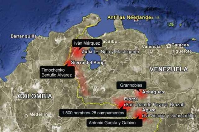 Ingreso del ELN a Venezuela