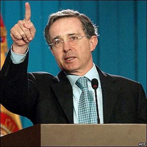 Reelecion de Alvaro Uribe