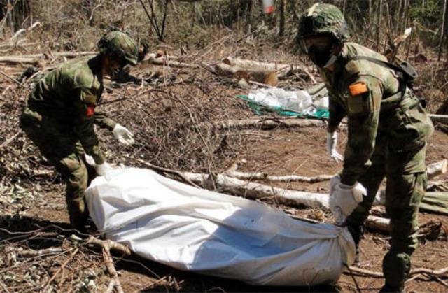 La Fuerza Aérea Colombiana bombardea a un reducto del Frente 21 de las FARC