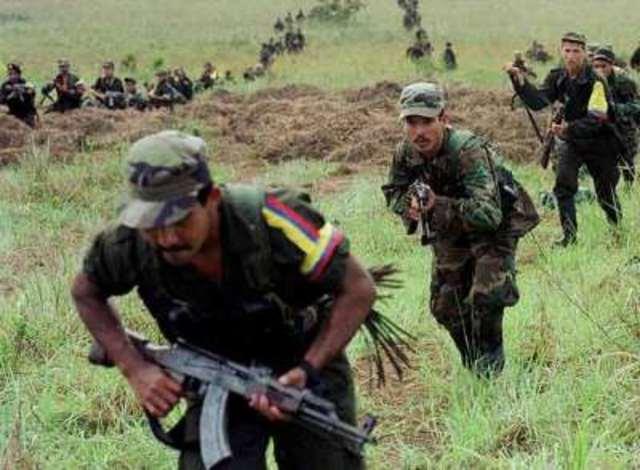 Enfrentamientos entre las guerrillas del ELN y las FARC