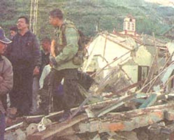FARC atacan base militar en el cauca