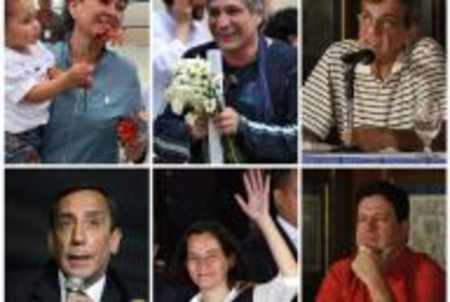 Ex rehenes de la FARC