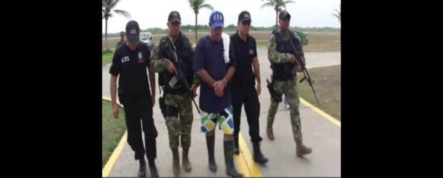 Capturan a Victor Ramon de la FARC