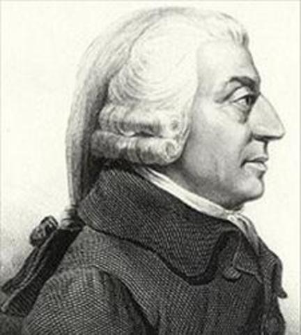 Adam Smith (1723-1790) Escocia