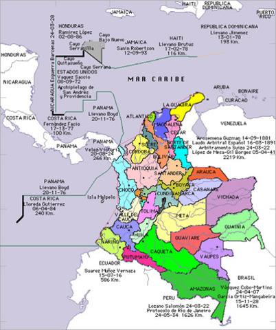 Limitaciones con Venezuela