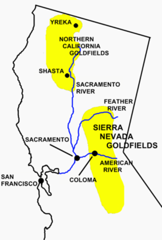 The California Gold Rush Begins
