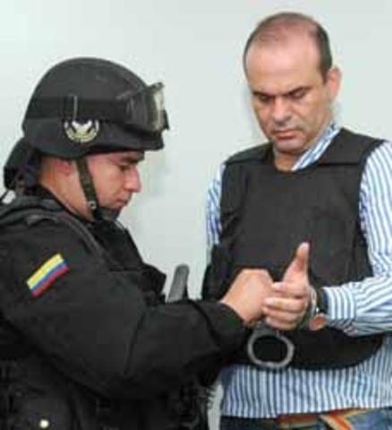 Extradición de Jefes de Autodefensas