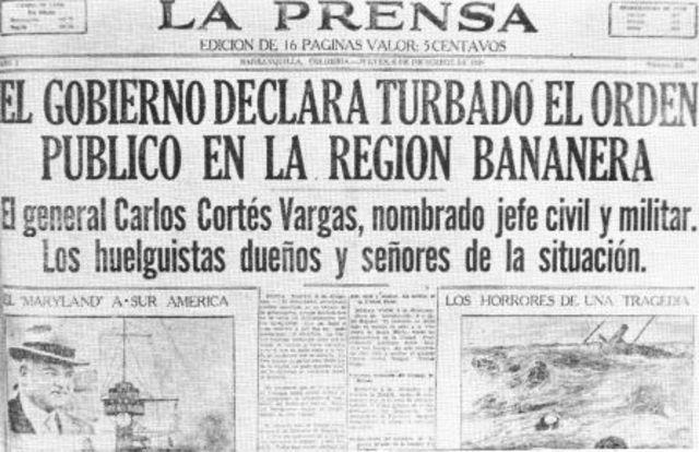 HUELGA DE TRABAJADORES EN BARRANQUILLA Y CARATAGENA