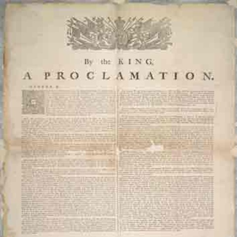 The Proclaimation of 1763-continued