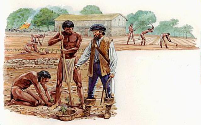 Prohibición esclavitud de los indígenas