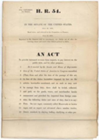 Revenue Act passed