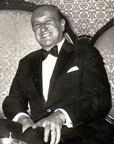 Presidente conservador Misael Pastrana Borrero