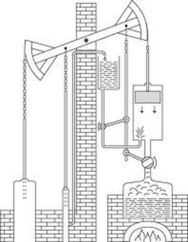 thomas Newcomen's steam pump