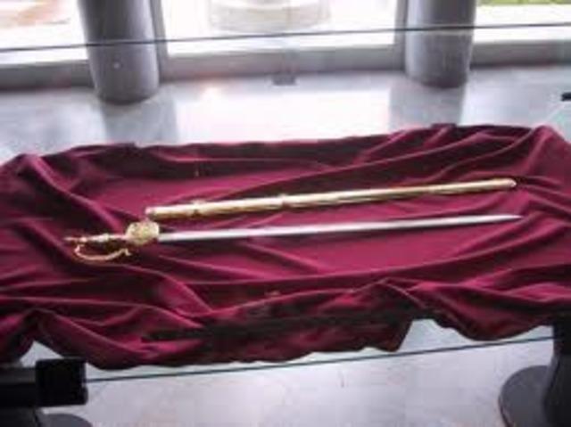 Robo de la Espada de Bolivar