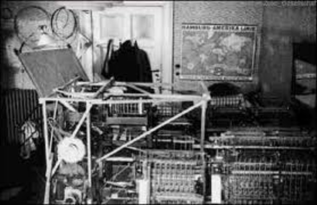 First Freely Programable Computer