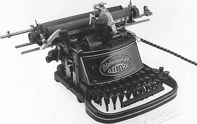 IBM's first electric typewriter