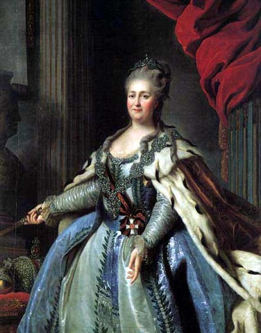 Catherine The Great Czarina of Russia