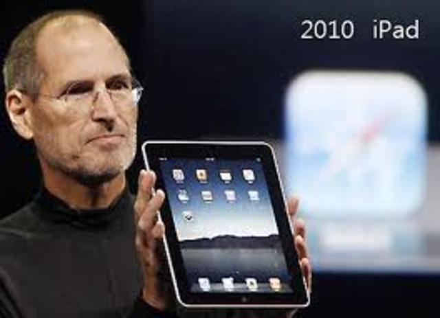 Apple anuncia el iPad.