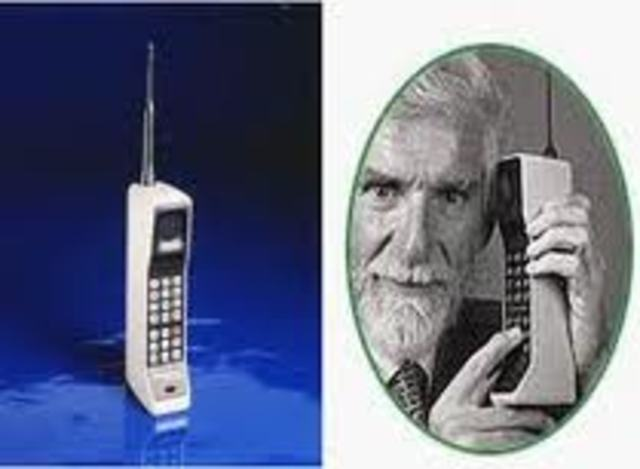 First Digital Cell Phone Call