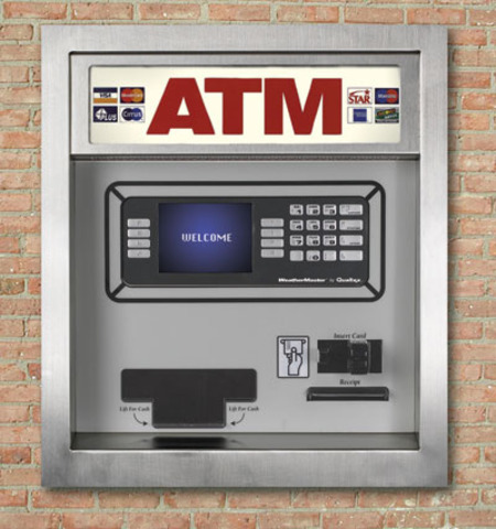 The ATM invented.
