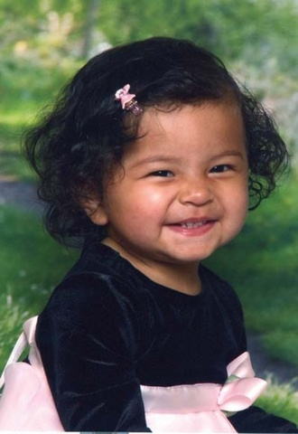 Jessica Alba as child.