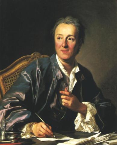 "Diderot Writes ""Encyclopedia"""