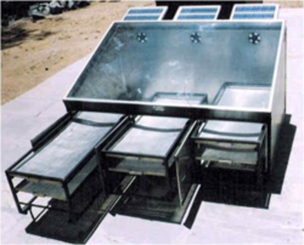 Solar Dryer to Preserve Meat