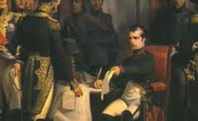 Napoleon Abdicates