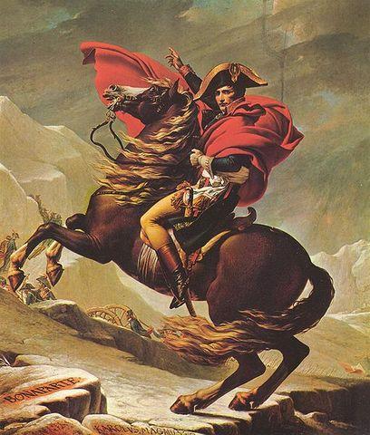 Napoleon Arrives in Paris.