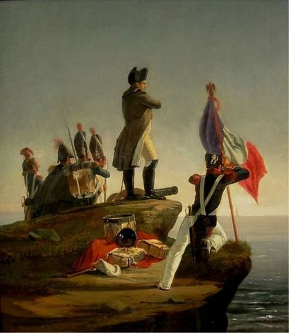 Napoleon Escapes from Elba