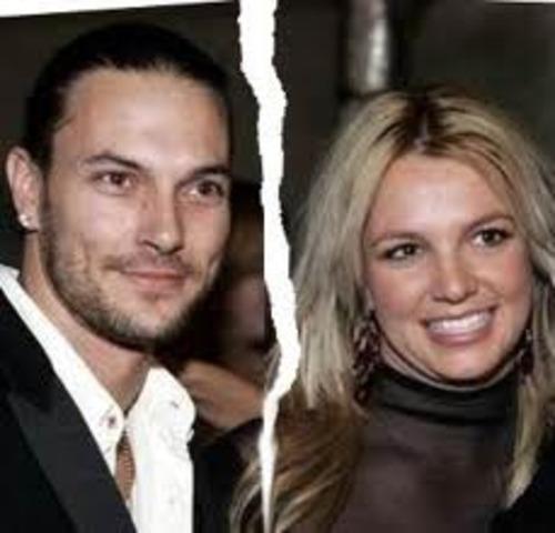 Britney Files for Divorce..