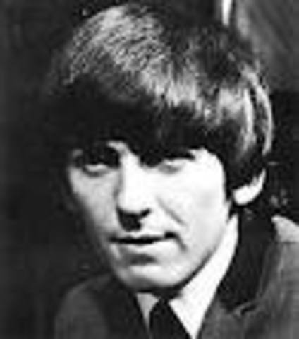 George Harrison was born 10 minutes past midnight in their family's terraced home, 12 Arnold Grove, in Liverpool England