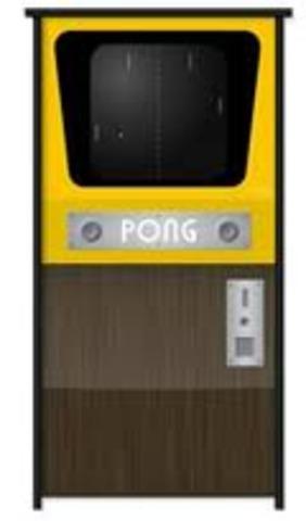 Atari lanza su primera máquina de juegos, Pong.