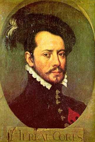 Cortez, a Spanish Conquistador, Invades the Aztecs