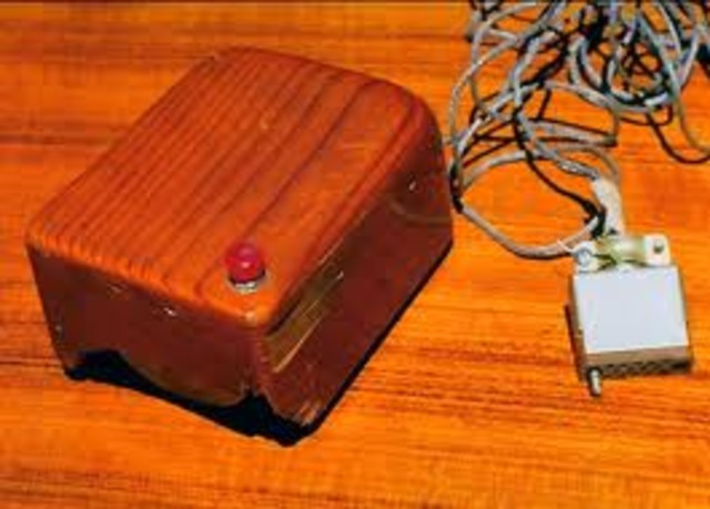 The first computer mouse is invented