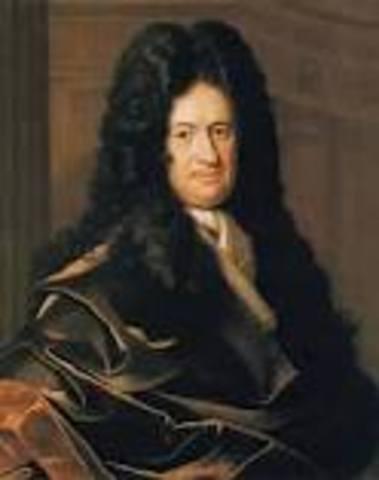 Gottfried Leibniz.