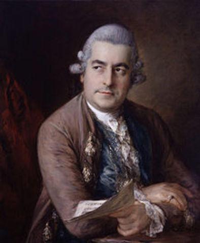 Johann Christian Bach Born