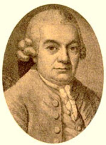 Carl Philipp Emanuel Bach born